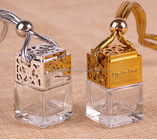 8ml Hanging Car air Freshener Perfume glass bottle HP1001