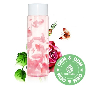 factory wholesale 1000ml volume package moisturizer rose water toner for face