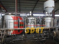 Shandong Shendong high quality 10bbl beer making equipment small beer brewery for sale