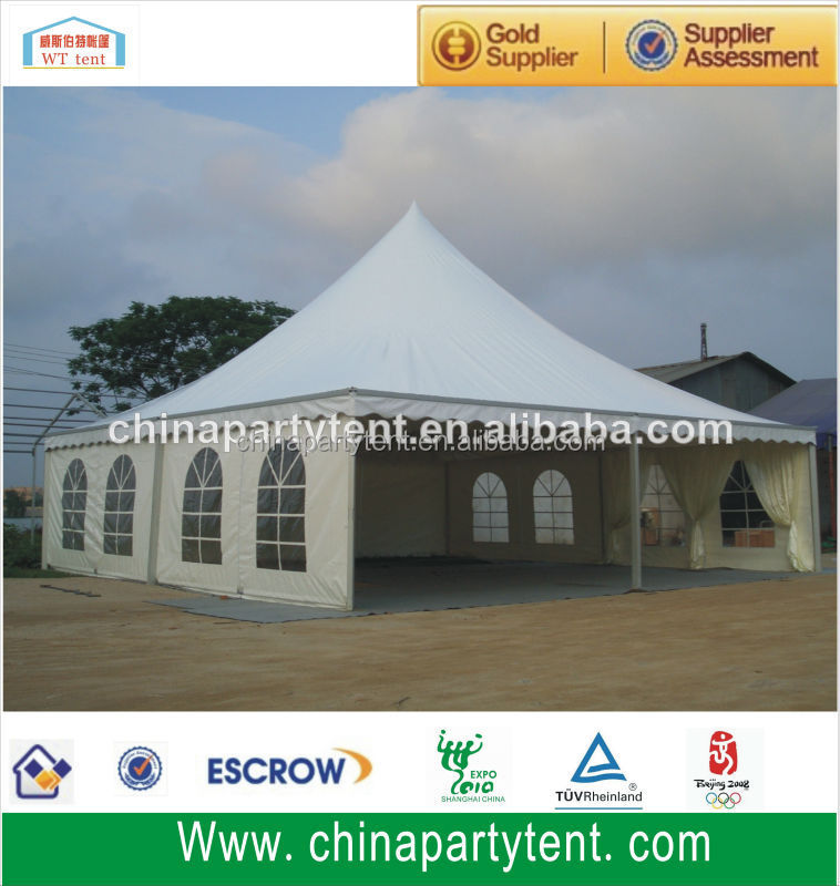 Outdoor wind proof events ceremony big canopy tents with pvc