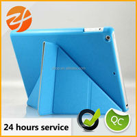 for ipad air smart case,multi-standing transformer case for ipad 5