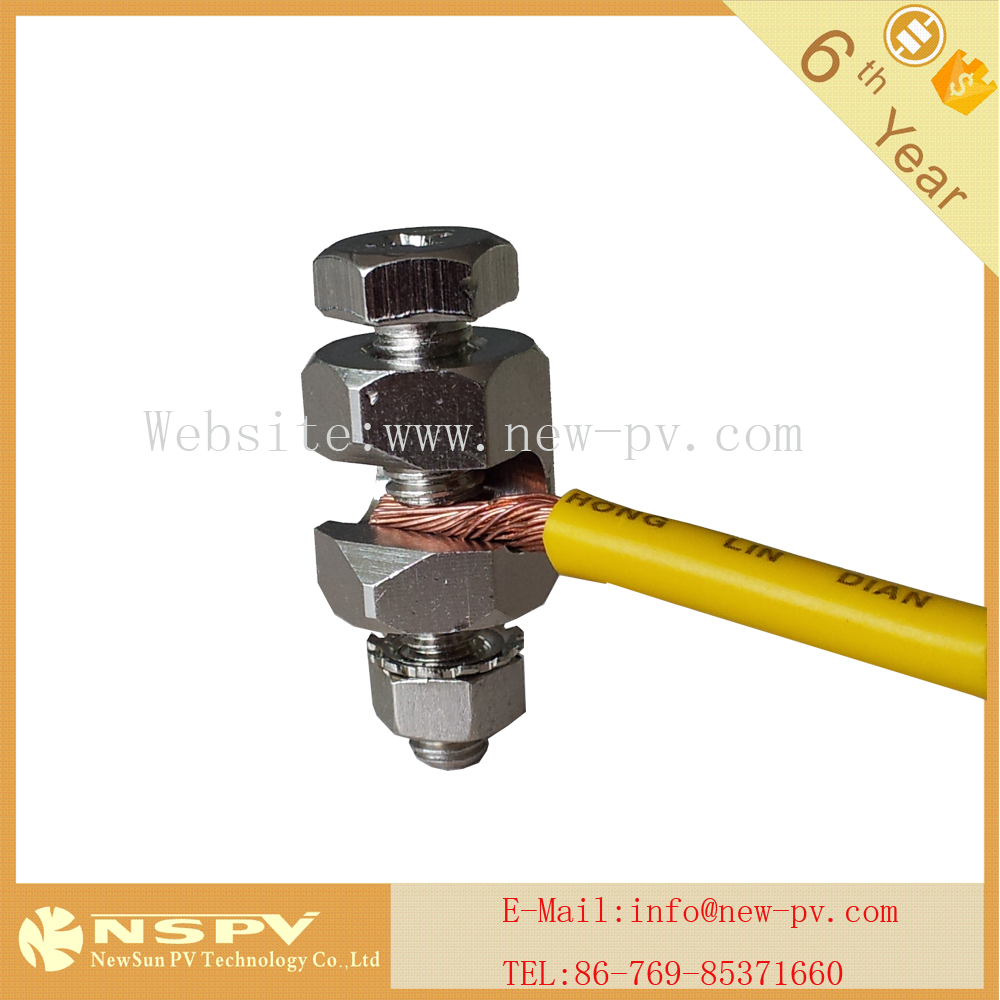 wire cable earth grand Clamp 3M for PV solar system