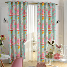 Blackout Thermal Insulated Polyester Window Curtain