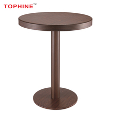 TOPHINE Furniture One Leg Patio Table /Small Restaurant Short Leg Coffee Table