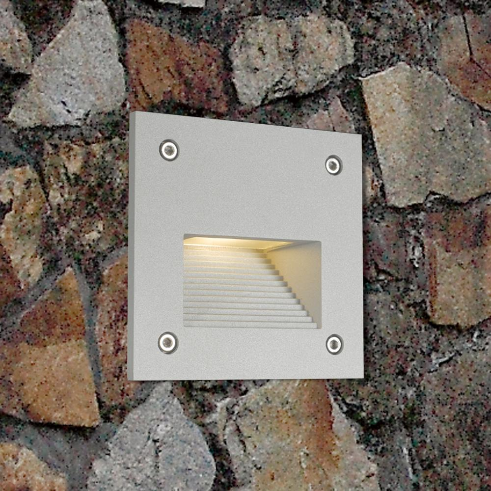 China IP65 Outdoor waterproof Decorative Square LED Stair Light simple modern wall light