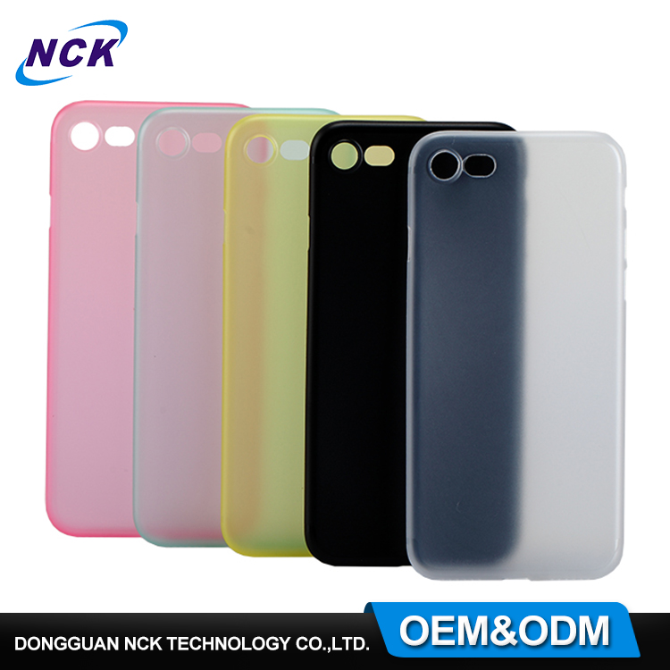 Trade assurance MOQ=100pcs free sample PP phone case for iphone 6 7 7plus