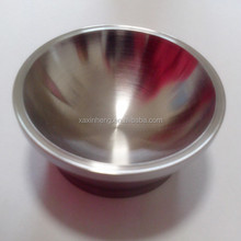 Polished sintered non-ferrous metal tungsten smelting crucible for jewelry