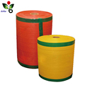PE plastic raschel mesh bag in roll for automatic packaging machine