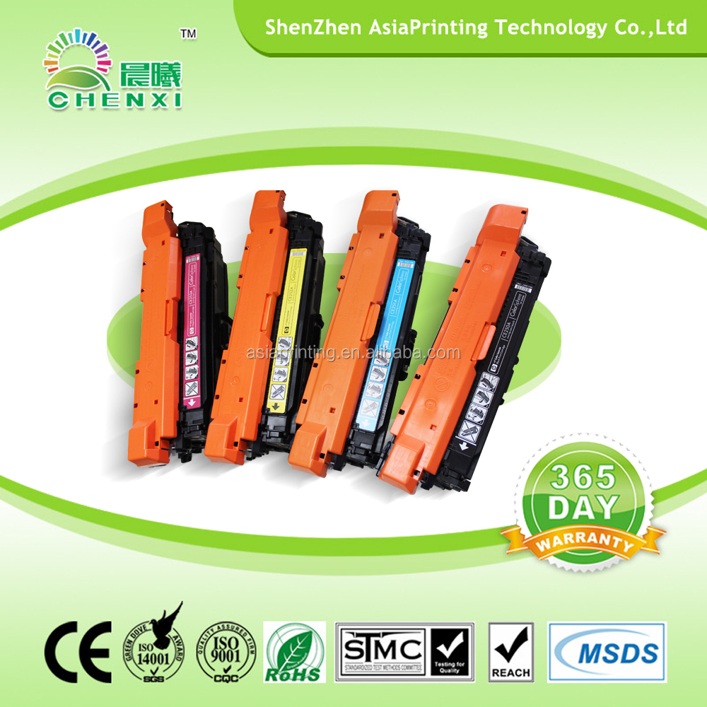 Distributors wanted Laser Color Toner Cartridge Set for CE260A CE261A CE262A CE263A