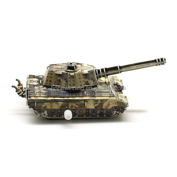 Unique best selling product military tank puzzle vehicles toys on websites