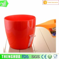 various size! bright color flower pot indoor plastic plant pots