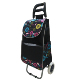 fashion shopping trolley bag with side pocket / New shopping bag trolley with cooler bag