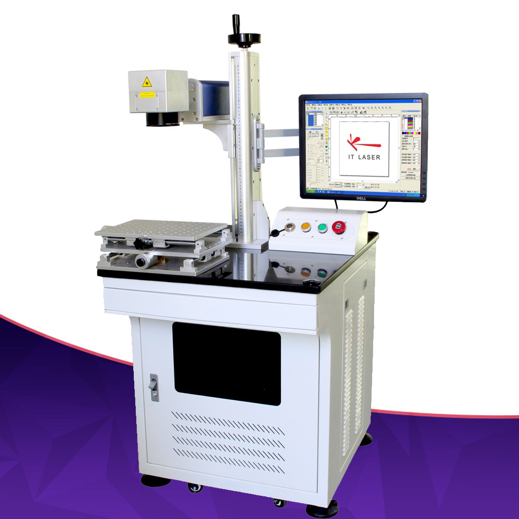 Brand new 20 walt metals Marking &amp engraving electronic component laser marking machine