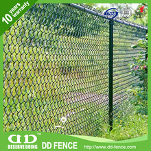 HIgh security excellent dog proof chain link fence /fence for slope protection / volleyball court