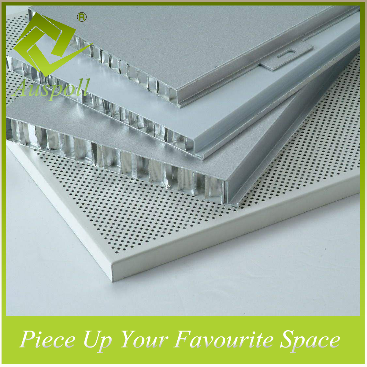 Fireproof Aluminum Honeycomb Board Ceiling