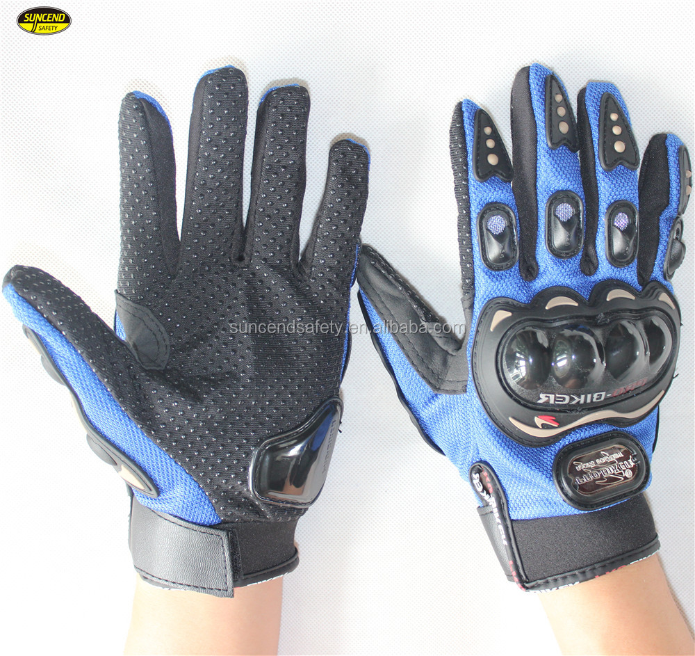 Motorbike sports hand protective leather racing breathable moto gloves