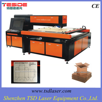 300w CNC plywood laser die cutting machine for die cutting die making in packaging industry