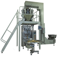 Full Automatic Weighing Packing Machine Potato Chips Corn Candy Packaging Machine (HFT-6240D)