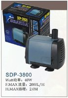 aquarium pump pond pump water pump (SHANDA) SDP-3800