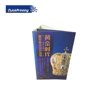 Custom printed small size catalogue/ brochure/ manual printing