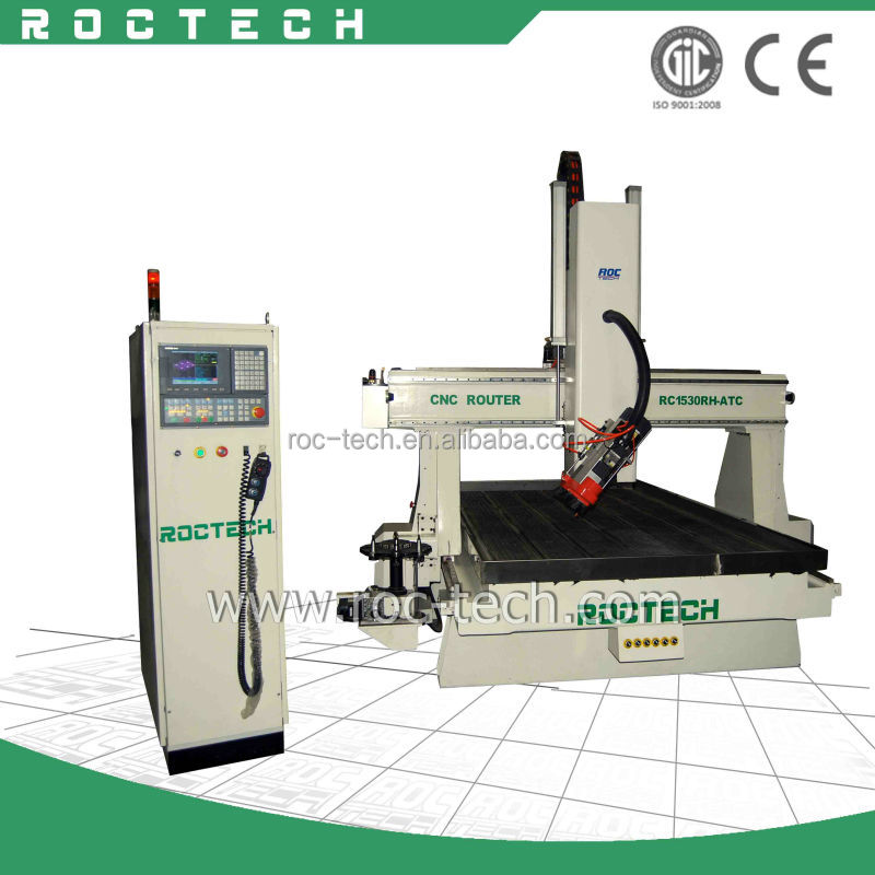4 Axis RC1530RH-ATC Woodworking Tools/Wood Cutting Machine
