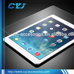 anti-fingerprint 99% ultra clear tempered glass screen protector for ipad mini