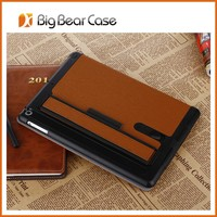 Flip leather cover for ipad 5 case