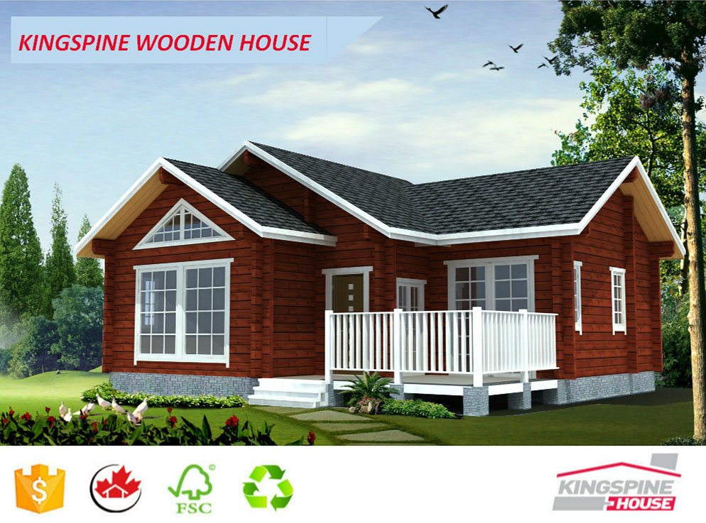 low cost price wooden house villa for india