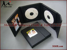 Wedding CD/DVD holder,Wedding CD/DVD Cases,cd dvd folio for wedding