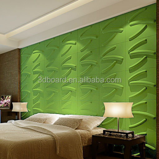 Modern Decorative Wall Panel 3D Printed Pearl Plant Fiber Non-woven Wall Paper Roll