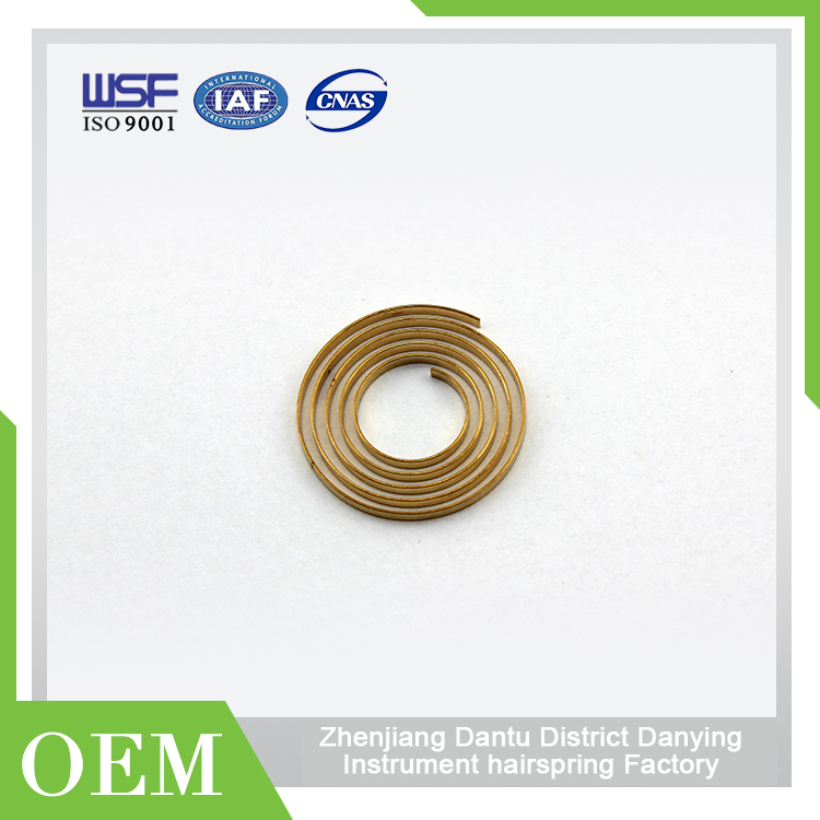 Hot selling Coil Steel Hairspring Vs Mainspring Hairspring Taper Pins