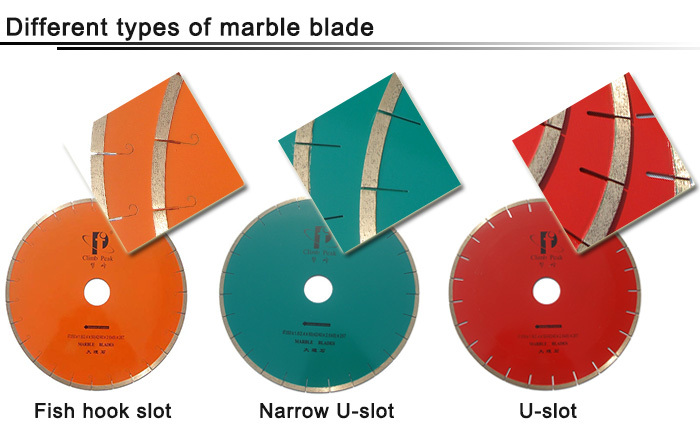 Medium Sizes Marble Jade diamond disc cutter blades