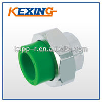 DIN8077/8088 2015 Hot sale china manufacturer PPR Fitting Female Threaded Union