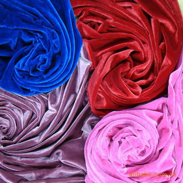 CHINA CHANGSHU SUPPILER SPUN VELVET FOR GARMENT/HOMETEXTILE