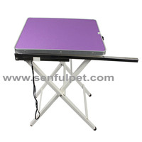 Light weighted dog grooming table