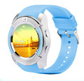 Support SIM card and camera round screen bluetooth smartwatch V8