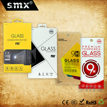 Custom Tempered Glass Packaging Box Retail Packaging Box For Screen Protector