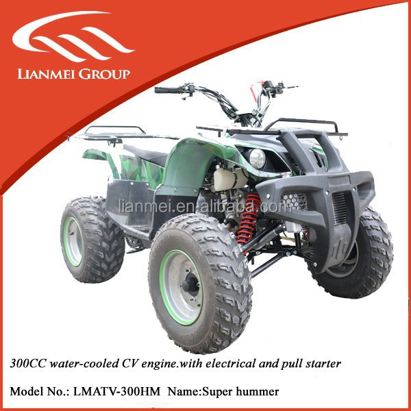 2015 New Products 300cc cheap price atv quad with 10inch atv tire