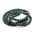 Round Natural Sparrow Jade Stone, Gemstone Loose Spacer Beads,DIY Jewelry Findings