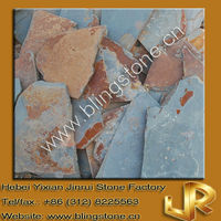 Natural Slate Paving Rusty Garden Stones