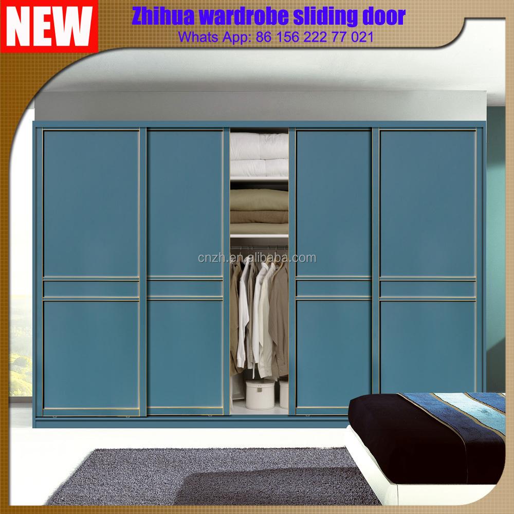 Zhihua new modern design 3 door closet bedroom wardrobe for New design door 2016