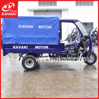 Kavaki Motor Five Wheel Auto Motorized Cargo Tricycle 5 Holes Boosting Rear Axle