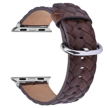 For Apple watch genuine leather band, High quality leather watch strap for Apple watch series 3