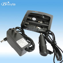 multi-function portable 3.7v li-ion 18650 battery charger