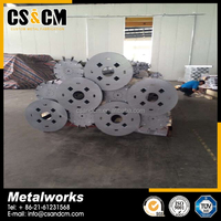 OEM Hot Dip Galvanized Steel Material Structural Fabrication Parts