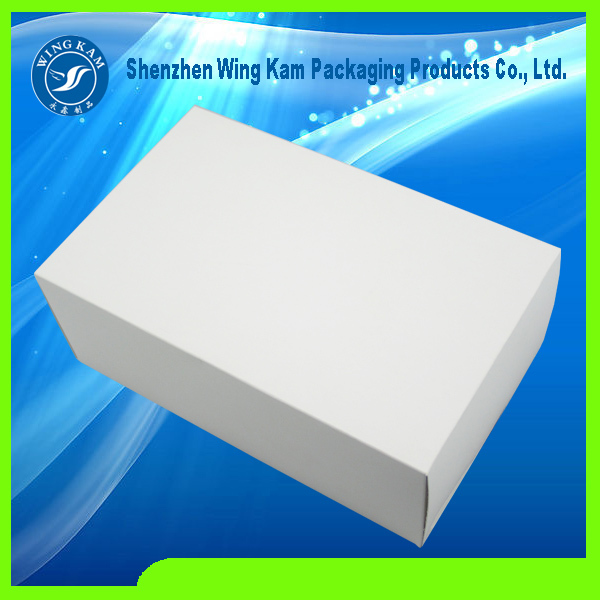 oem paper apparel underwear packaging box for custom