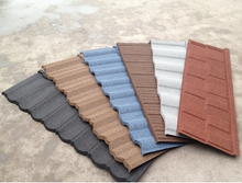 8 layers kerala decorative stone coated metal roof tile price