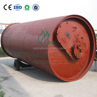 equipment for used tyre pyrolysis to get fuel oil capacity 8 to 10 tons per day