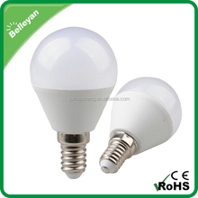 LED bulb light, 5W light led bulb lamp, energy saving e14 e27 led light bulb
