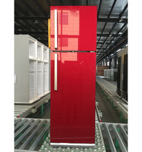 2016 NEW MODEL big size glass door refrigerator 470L gas double door refrigerator with inside or outside evaporator optional